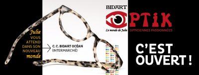 Bidart Optik, opticien à Bidart, collections de lunettes