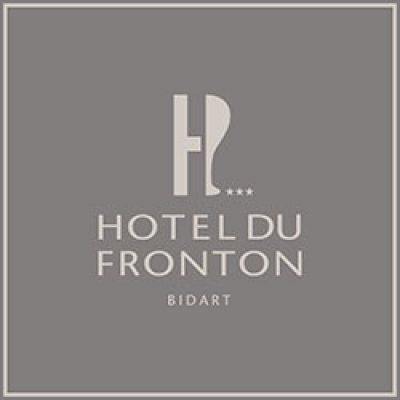 Hôtel du Fronton, Bidart, logo