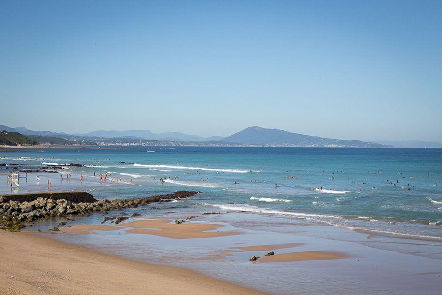 plage bidart photo laurence poullaouec