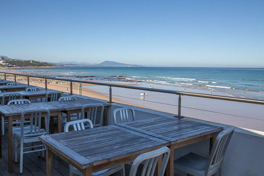 restaurant tantina playa bidart